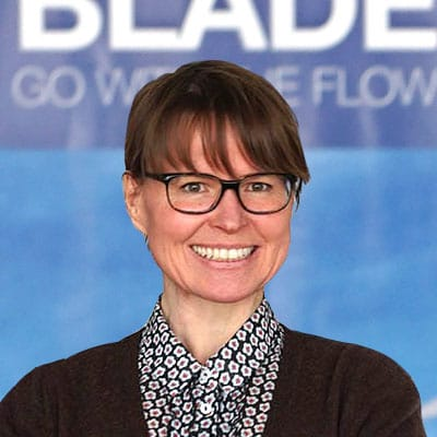 Picture ofDipl.-Ing. Ute Franke, the Co-Founder & Enabler of 5micron