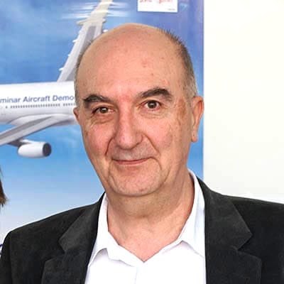 Picture ofDr. Jean Blondeau, the Co-Founder & Inventor of 5micron